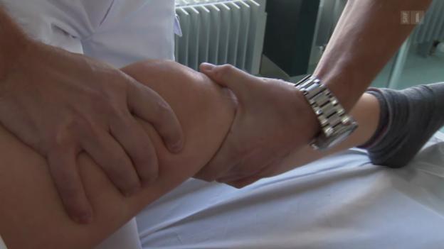 Video «Skiunfälle – Kniesimulator soll Gelenke retten» abspielen
