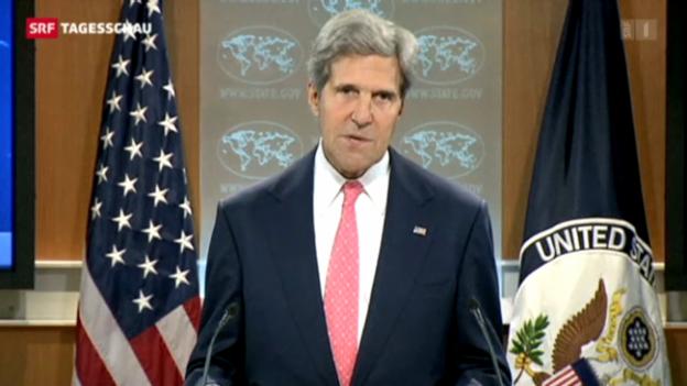 Video «Militärschlag gegen Syrien immer wahrscheinlicher» abspielen
