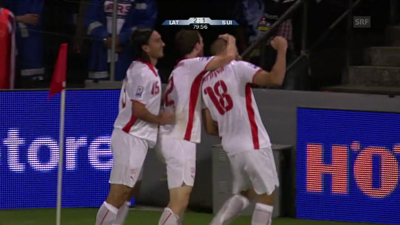 2009: Schweiz vs. Lettland – ein Remis in Riga