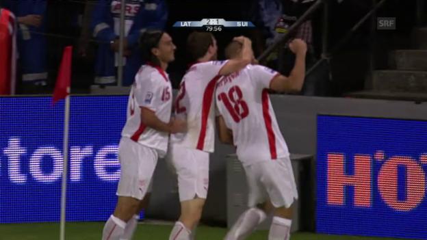 Video «2009: Schweiz vs. Lettland – ein Remis in Riga» abspielen