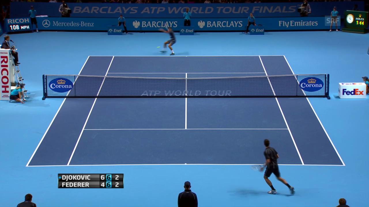 Entscheidende Punkte Federer - Djokovic