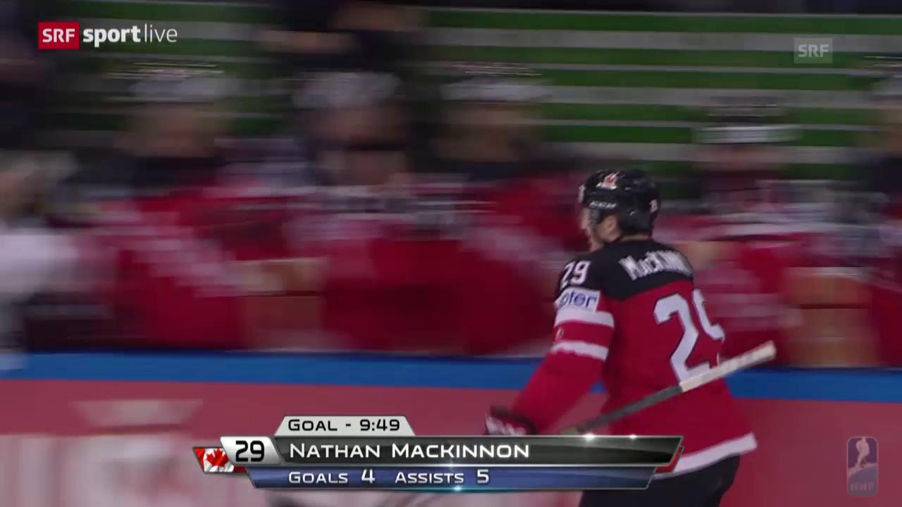 Eishockey: WM-Final 2015, 6:0, MacKinnon