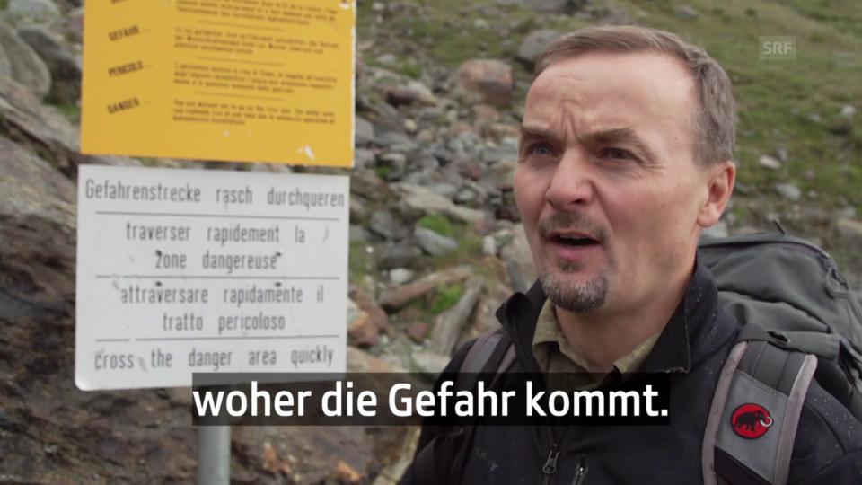 Geologe Hugo Raetzo: «Oft sieht man nicht, von wo die Gefahr kommt»