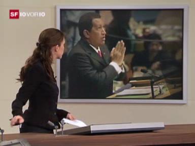 """Video «Zitat des Tages: Chavez und """"der Teufel""""» abspielen"""