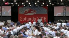 Video «FOKUS: Highlights der Gotthard-Eröffnung» abspielen