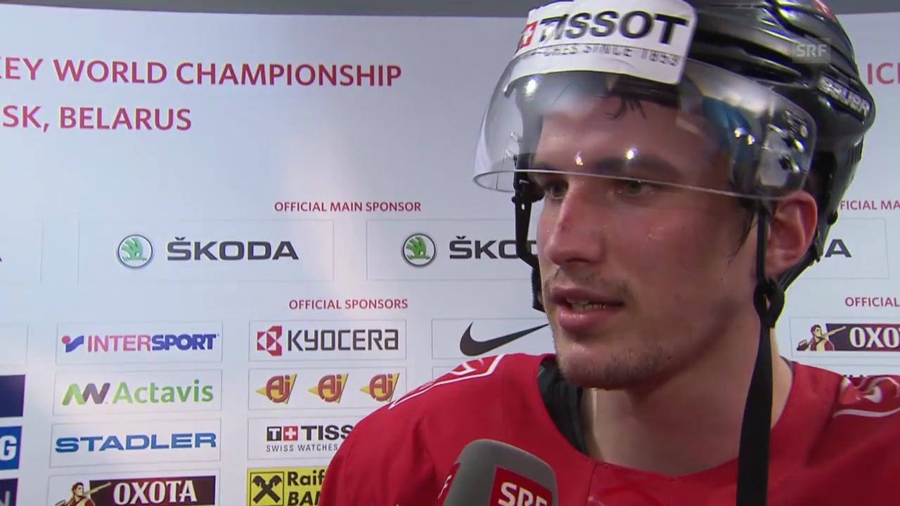 Eishockey: Interview mit Roman Josi