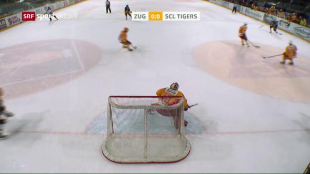 Video «Die SCL Tigers überraschen in Zug» abspielen
