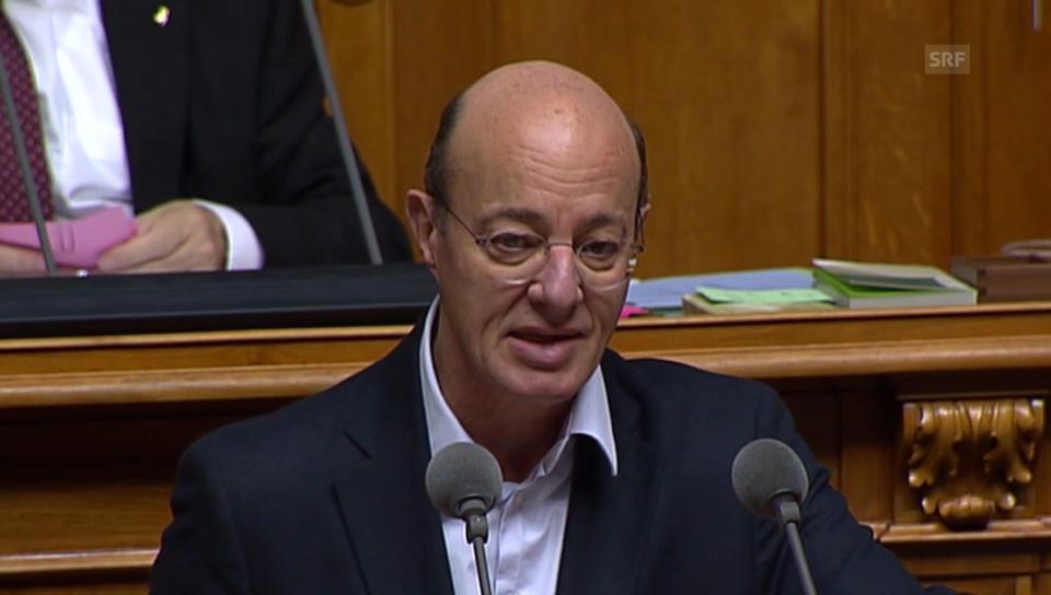 Grüne-Nationalrat Louis Schelbert: «Kein Vertrag ist risikoreich»
