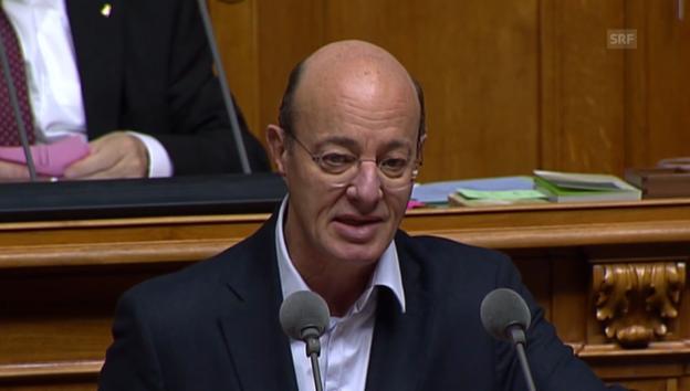 Video «Grüne-Nationalrat Louis Schelbert: «Kein Vertrag ist risikoreich»» abspielen