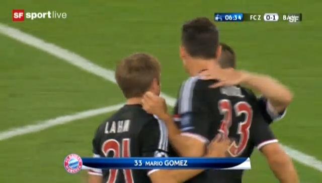 FCZ verliert auch das Rückspiel («sportlive»).
