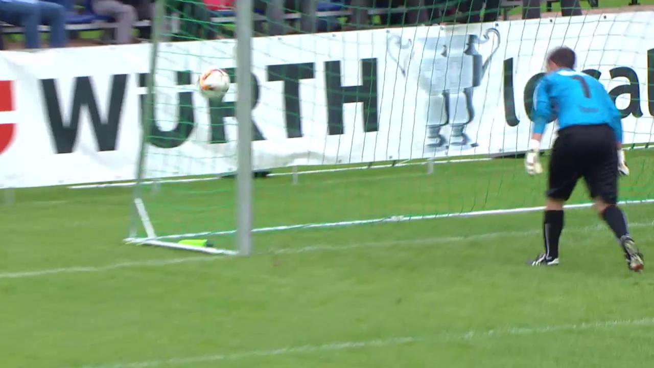 Fussball: Schweizer Cup, 1. Runde: Hausen -FCSG Alle Tore