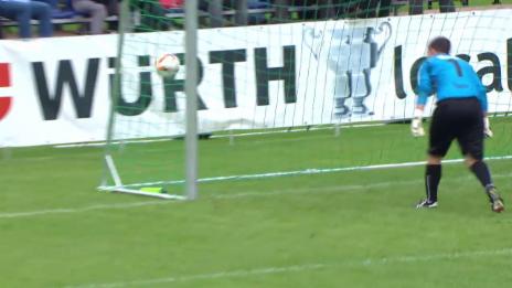Video «Fussball: Schweizer Cup, 1. Runde: Hausen -FCSG Alle Tore» abspielen