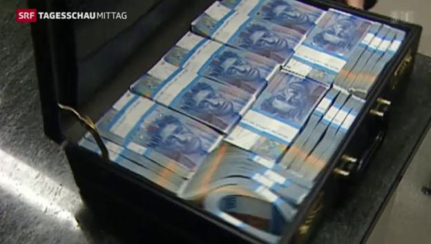Video «Anstieg der Verdachtsmeldungen auf Geldwäscherei» abspielen