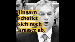 Video «Ungarn schottet sich noch krasser ab» abspielen