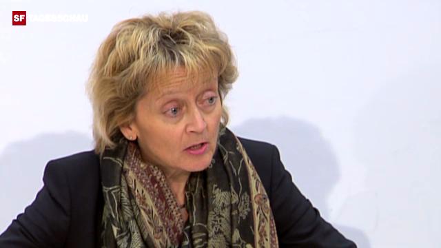 Widmer-Schlumpf bedauert Nein zu Steuerabkommen