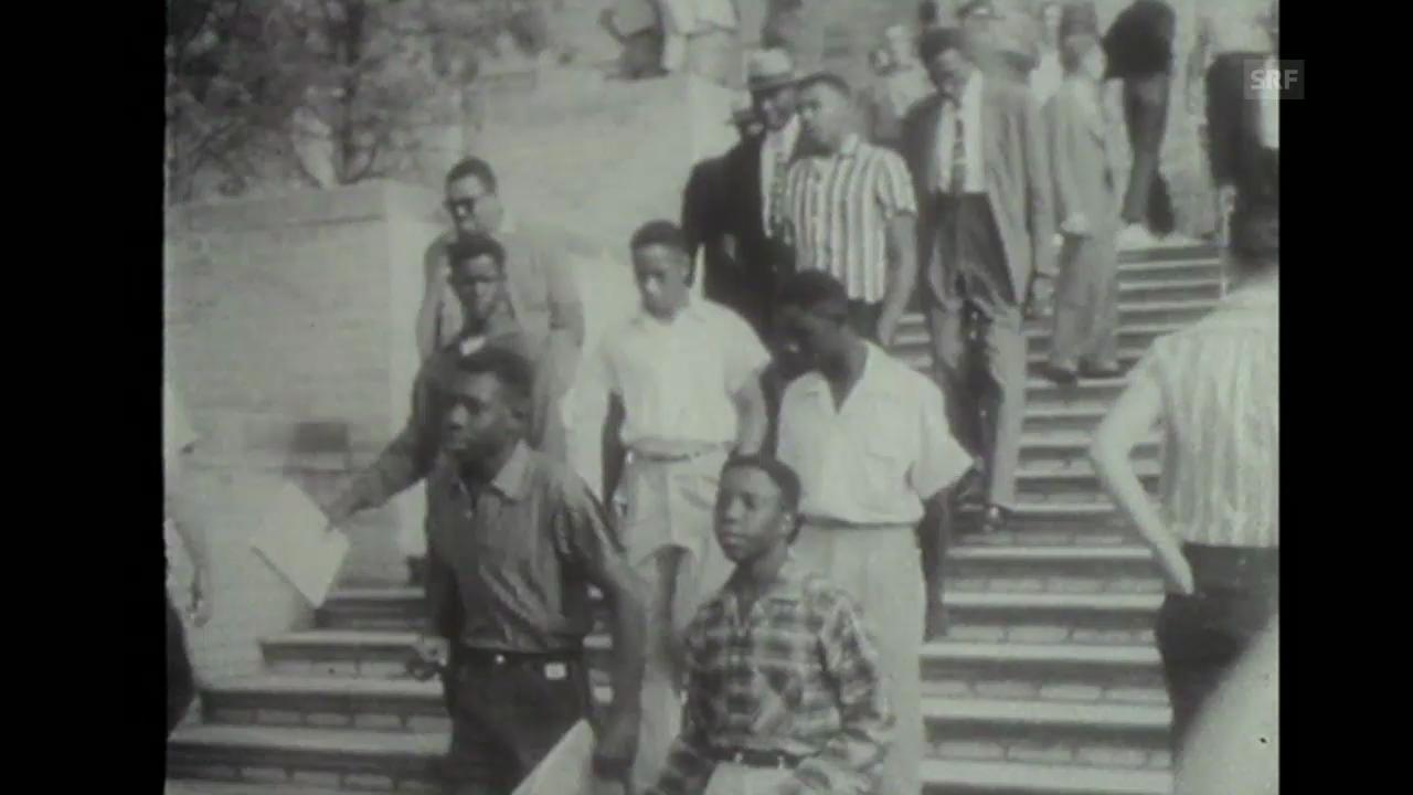«Rassendiskriminierung», Tagesschau, 30.12.1957