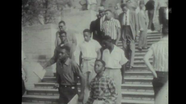 Video ««Rassendiskriminierung», Tagesschau, 30.12.1957» abspielen