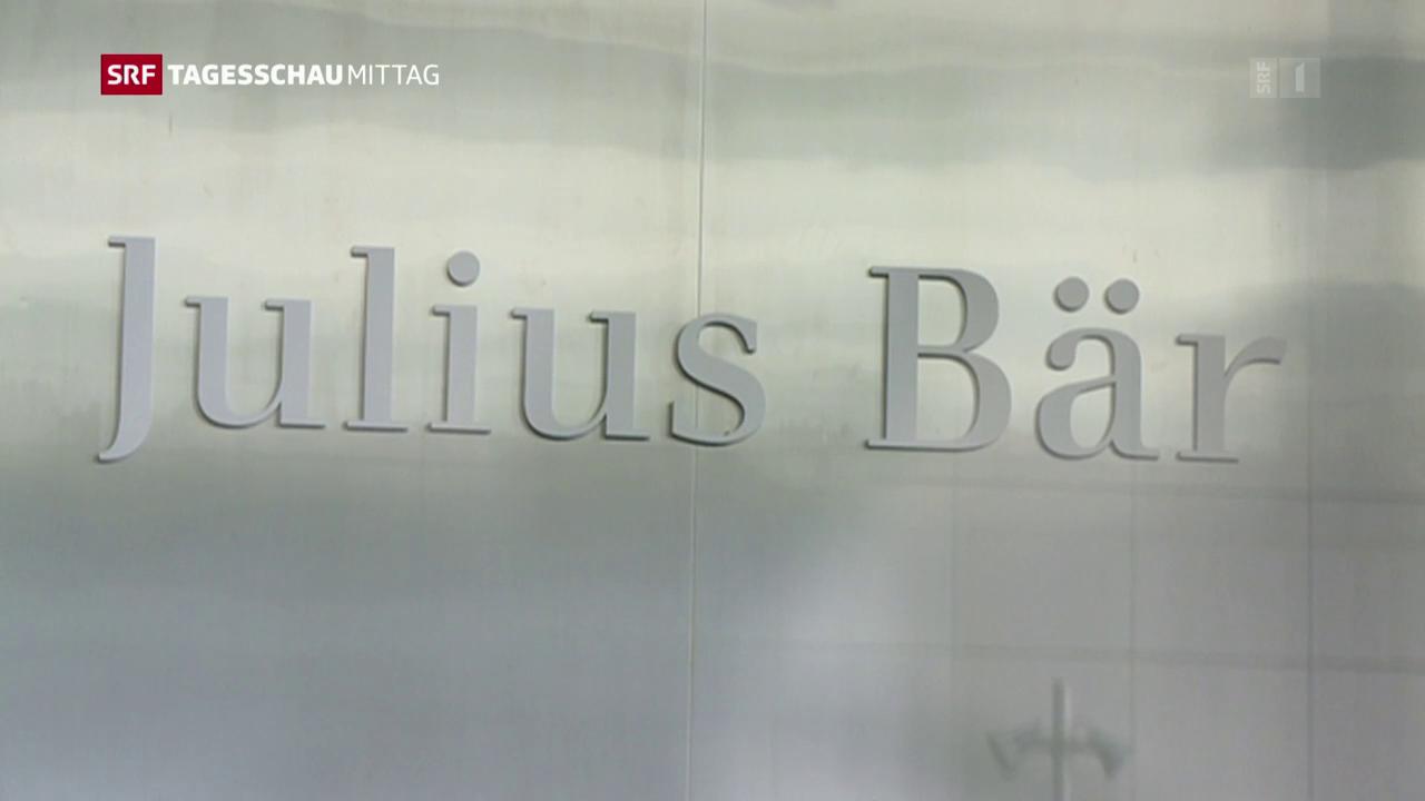 Gute Zahlen für Julius Bär