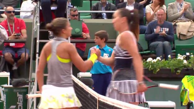 Video «Tennis: French Open, Jankovic-Errani, Satz- und Matchbälle» abspielen