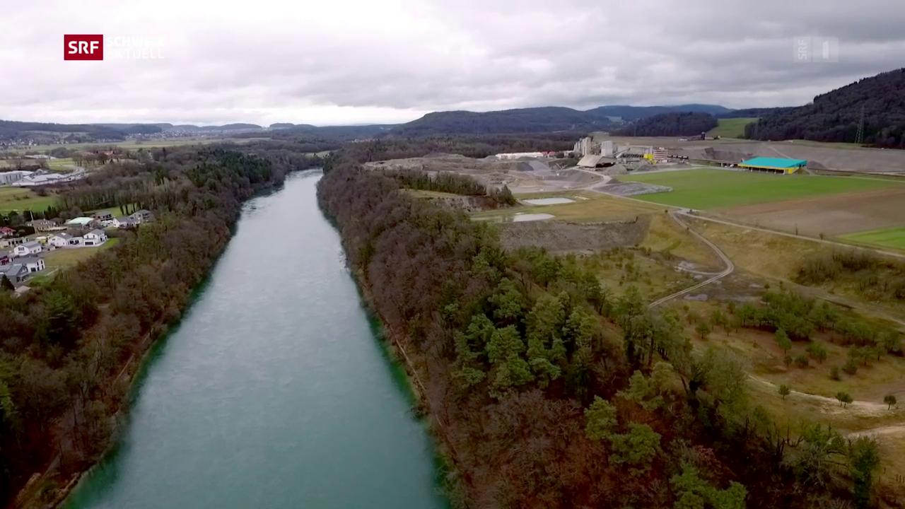 Deutsche Ängste vor Schweizer Atomabfall