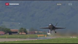 Video «Skyguide liess F/A-18 zu tief fliegen» abspielen