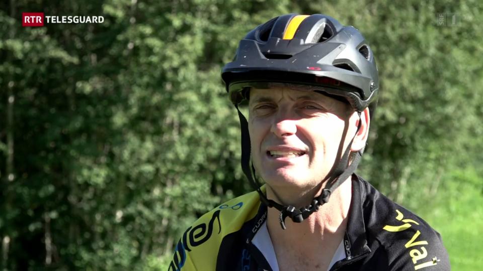 David Tschenett è per la 19avla giada al Bike-Maraton