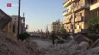 Video «In Aleppo bahnt sich eine humanitäre Katastrophe an» abspielen