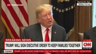 Video «Trump will Trennung von Einwanderer-Familien beenden» abspielen