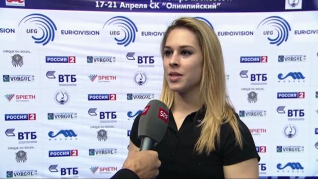 Video «Interview mit Giulia Steingruber» abspielen