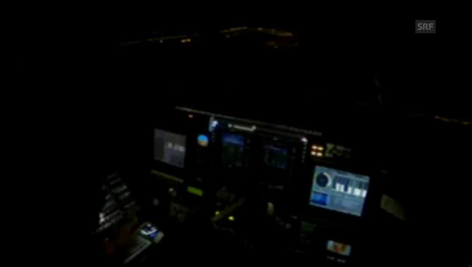 Landung in Chongqing (englisch)