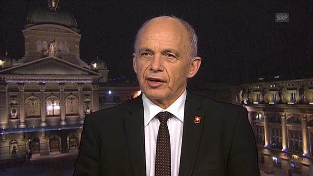 Bundespräsident Ueli Maurer kommentiert die Studie