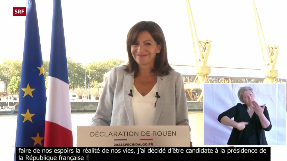 Anne Hidalgo bewirbt sich ums Präsidentenamt