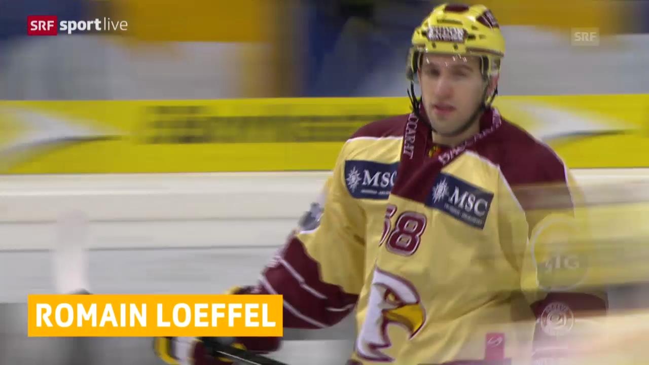 Eishockey: Loeffel 7 Spiele gesperrt