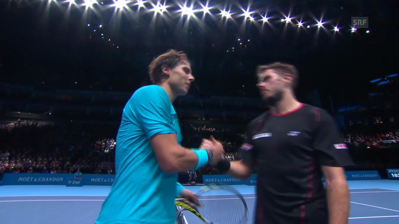 Matchbericht Wawrinka - Nadal («tagesschau»)
