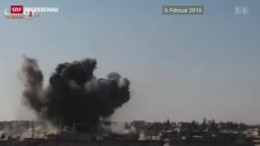 Video «Brüchige Waffenruhe in Syrien» abspielen