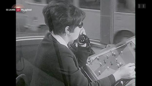 Video «Archivperle: Gesucht wird: Polizeigehilfin – 1966» abspielen