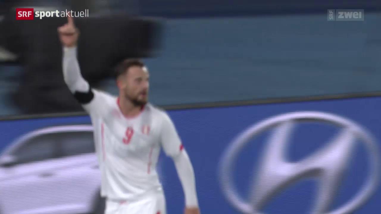 Fussball: Freundschaftsspiel Österreich-Schweiz
