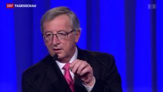 Video «Juncker soll Barroso-Nachfolge antreten» abspielen