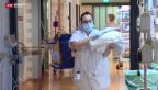 Video «Schutzmasken-Pflicht zeigt erste Erfolge» abspielen