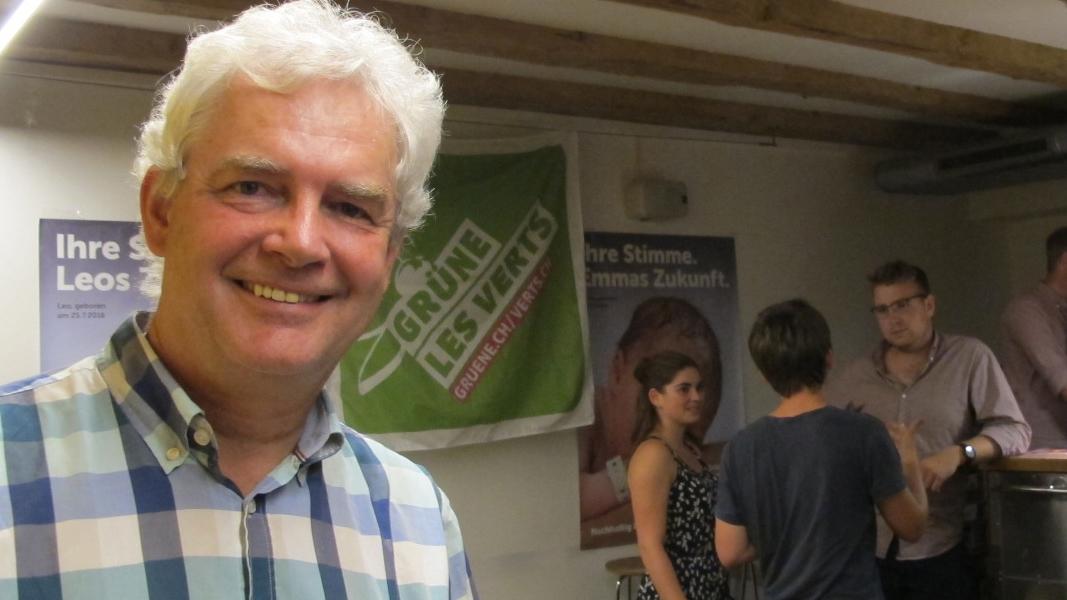 Felix Wettstein zum Rücktritt als Präsident der Grünen Kanton Solothurn.