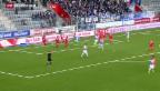 Video «FC Thun und GC trennen sich unentschieden» abspielen