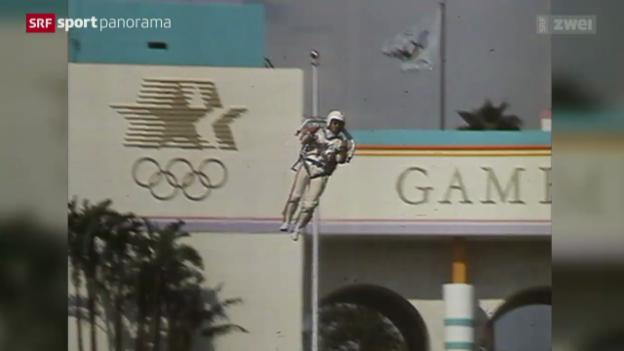 Video «Olympisches: Rückblick auf die Sommerspiele 1984 in Los Angeles» abspielen