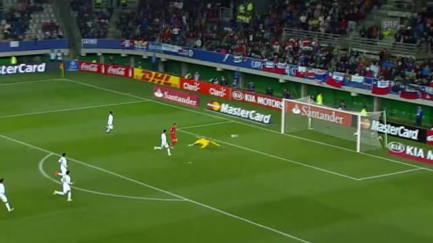 Video «Fussball: Copa America, Viertelfinal, 2:0 Peru» abspielen
