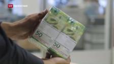 Video «Neue 50-Franken-Note in Umlauf» abspielen