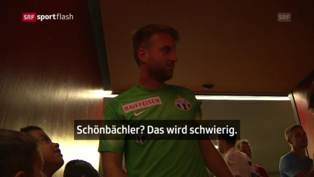 Video «Da Costa spasst bald wieder mit Schweizer Einlaufkindern» abspielen