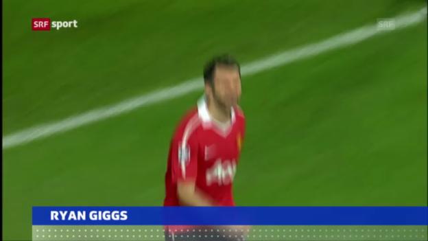 Video «Fussball: Ryan Giggs verlängert bei Manunited («sportaktuell»)» abspielen