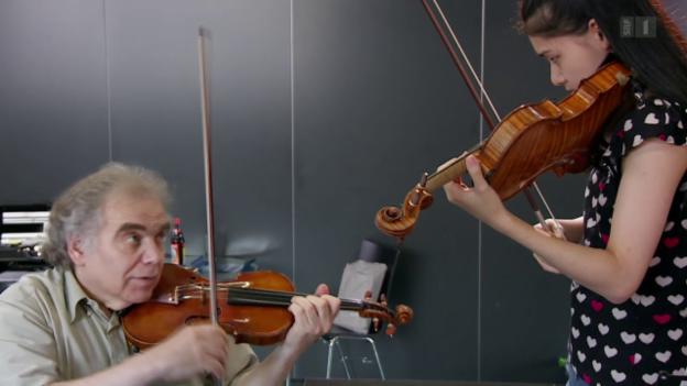 Video «Meisterschülerinnen - der Traum von der Solokarriere» abspielen
