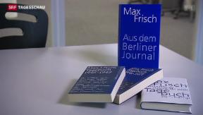Video «Berliner Tagebücher von Max Frisch veröffentlicht» abspielen