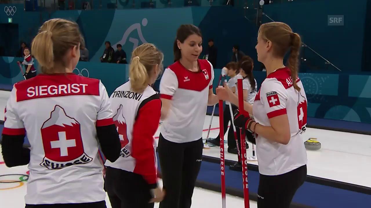 Zusammenfassung Curling Schweiz-USA