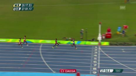 Video «Die Schlussrunde über 10'000m» abspielen
